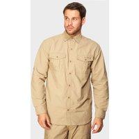 Peter Storm Mens Long Sleeve Travel Shirt  Beige