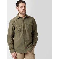 Peter Storm Mens Long Sleeve Travel Shirt  Khaki