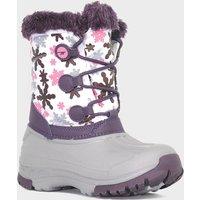 Hi Tec Girls Cornice Snow Boot, Purple