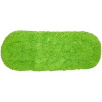 Wham Shine Deluxe Microfibre Feather Flat Mop - Green, Green