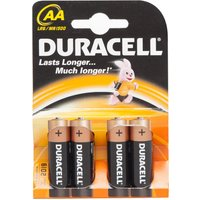 Duracell Plus Power AA Batteries - 4 Pack, Assorted