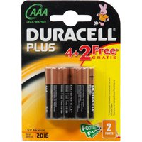 Duracell Plus Power AAA Batteries - 4 Pack, Assorted