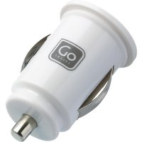 Design Go USB Double In-Car Charger, White