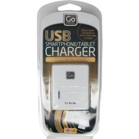 Design Go Twin USB Charger (UK), White