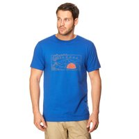 Mountain Hardwear Mens Tent Flag Short Sleeve Tee, Blue