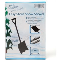 Boyz Toys Easy Store Snow Shovel - Black, Black