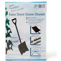 Boyz Toys Easy Store Snow Shovel, Black