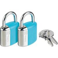 Design Go Glo Key Locks, Blue