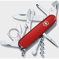 Victorinox Explorer Pocket Knife - Red, Red
