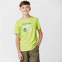 Regatta Boys Bosley CoolWeave T-Shirt, Green