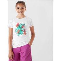 Regatta Girl's Bosley CoolWeave T-Shirt, White