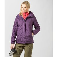 Peter Storm Womens Glide Waterproof Jacket, Purple