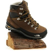The North Face Womens Verbera Leather Backpacker Hiking Boot, Brown