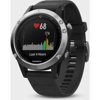 Garmin Fenix 5 Multi-Sport GPS Watch - Silver, Silver