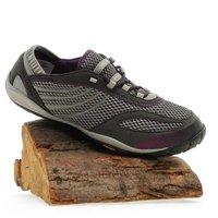 Merrell Womens Pace Glove Barefoot Multi-Active Shoe, Grey