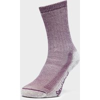 Smartwool Women's Hiking Medium Crew Socks, Purple