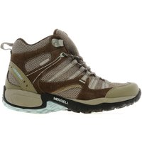Merrell Womens Toscora Mid Walking Boots, Brown