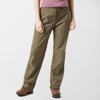 Brasher Women's Stretch Trousers, Khaki