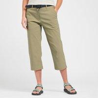 Brasher Womens Stretch Crop Trousers  Beige