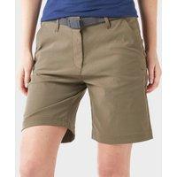 Brasher Womens Stretch Walking Shorts - Khaki, Khaki