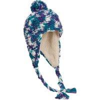 Alpine Womens Peruvian Knitted Hat, Mid Blue
