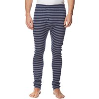 Peter Storm Mens Stripe Thermal Base Layer Bottoms, Navy