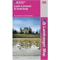 Ordnance Survey OS Landranger 56 Loch Lomond & Inveraray Map, Assorted