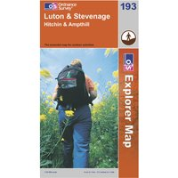 Ordnance Survey Explorer 193 Luton & Stevenage Map, Assorted
