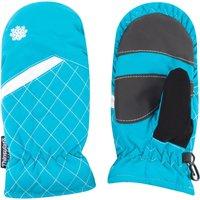 Alpine Girls Thermal Ski Mittens, Blue