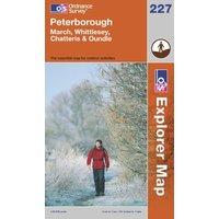 Ordnance Survey Explorer 227 Peterborough Map, Assorted