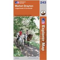 Ordnance Survey Explorer 243 Market Drayton Map, Assorted