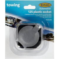 Ring 12S 7 Pin Plastic Socket (A0028), Grey