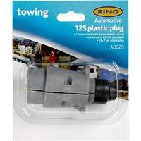 Ring 12S 7 Pin Plastic Plug (A0029) - Multi, Multi