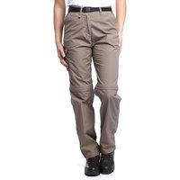 Craghoppers Womens Kiwi Zip-Off Trousers, Beige