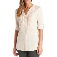 Peter Storm Womens Linen Shirt, Light Pink