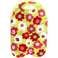 Eurohike Floral Wine Carrier, Multi
