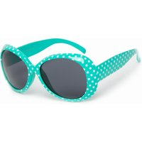 Peter Storm Girls FF Glam Round Sunglasses, Green