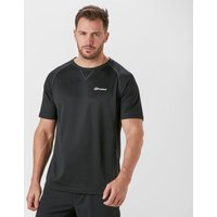 Berghaus Mens Tech SS Crew Tee, Black