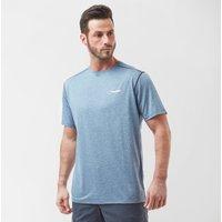 Berghaus Men's Explorer Short Sleeve Tech T-Shirt, Blue
