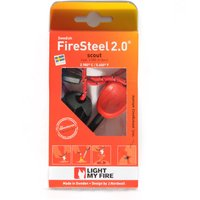Light My Fire Swedish FireSteel 2.0 Scout Fire Starter, Red