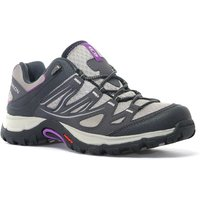 Salomon Womens Ellipse Aero Walking Shoe, Grey