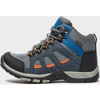 Peter Storm Boys' Headley Waterproof Mid Walking Boot, Grey/Grey