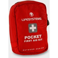 Lifesystems Pocket First Aid Kit - Red, Red