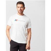 Berghaus Mens Corporate Logo T-shirt  White