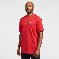 Berghaus Back Logo Short Sleeve T-Shirt, Red/Red