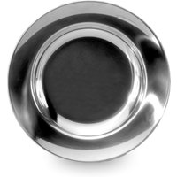 Lifeventure Stainless Steel Plate, Black