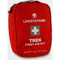 Lifesystems Trek First Aid Kit - Red, Red