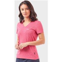 Jack Wolfskin Women's Crosstrail T-Shirt, Pink