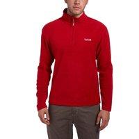 Regatta Men's Thompson Half Zip Fleece, Red