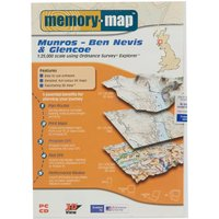 Memory Map Explorer Ben Nevis & Glencoe - Orange, Orange